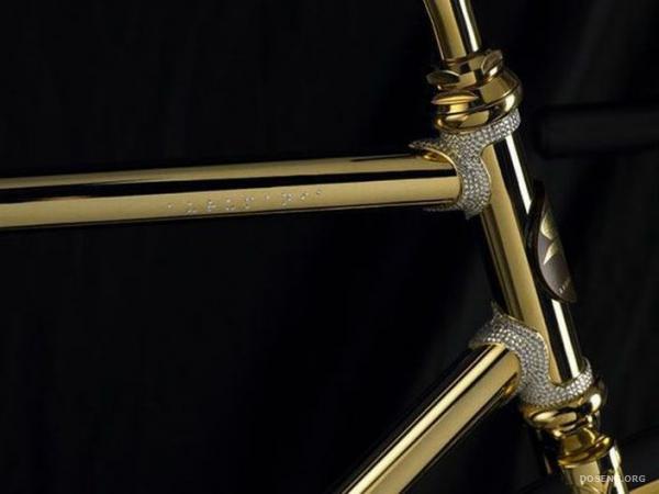 Велосипед из золота (12 фотографий)