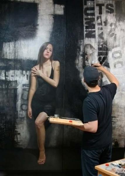 Портреты на стенах (15 фото)