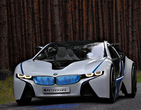 Концепт BMW Vision EfficientDynamics (13 фото)