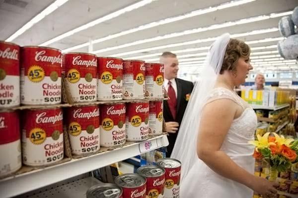 Девять 99-центовых свадеб (20 фото)