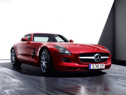Mercedes-Benz SLS AMG (40 фото)