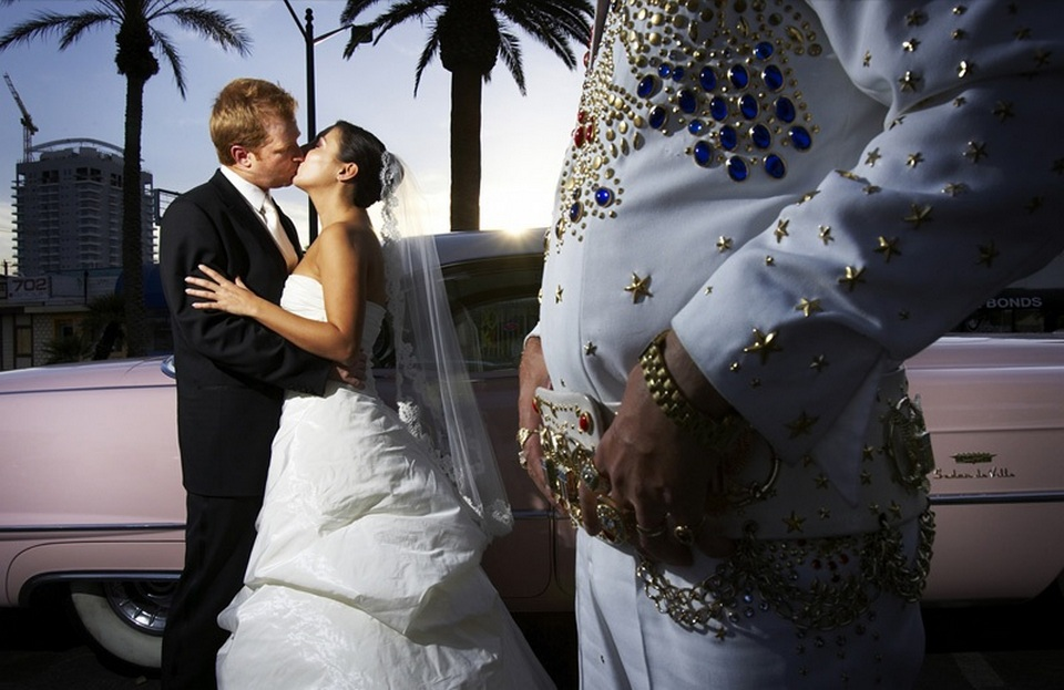 International and foreign wedding in las vegas