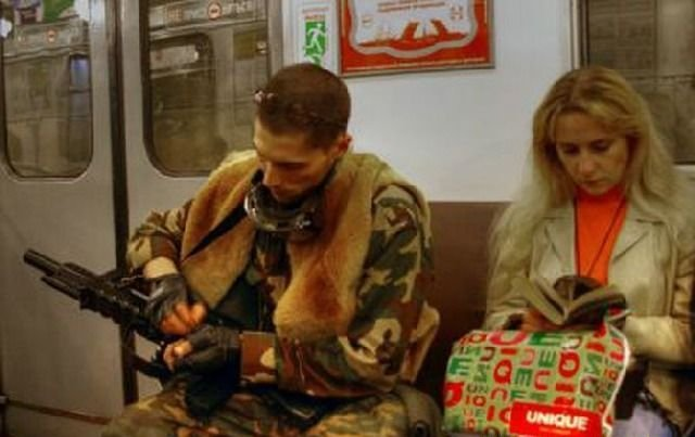 фото русских в транспорте