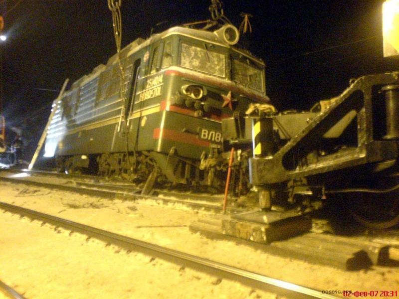аварии на железных дорогах фото
