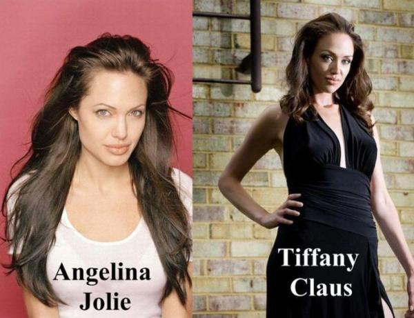Двойник Анджелины Джоли - Тиффани Клаус (18 фото)