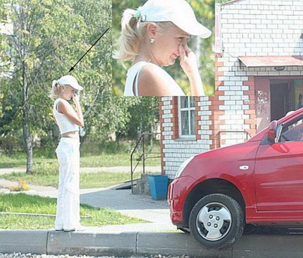 За рулем женщины (35 фото)