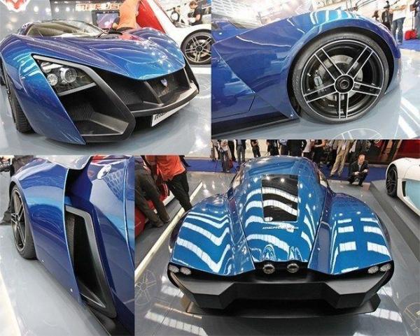 Русский суперкар Marussia