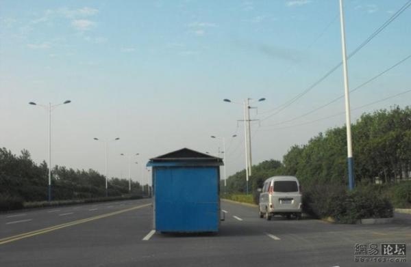 Что это, ларек на шоссе? (5 фото)
