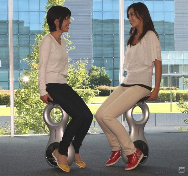 Honda U3-X: персональное транспортное средство