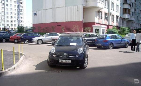 Я паркуюсь как... (4 фото)
