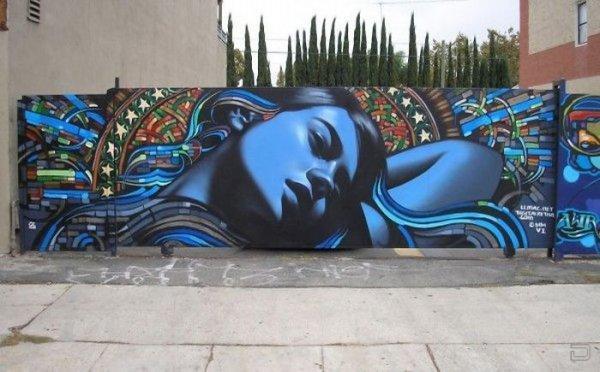 Великолепные граффити (27 фото)