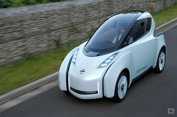 Новый концепт Nissan (10 фото)