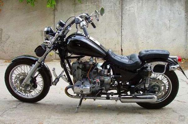 Мотоцикл Урал «Волк» (7 фото + текст)