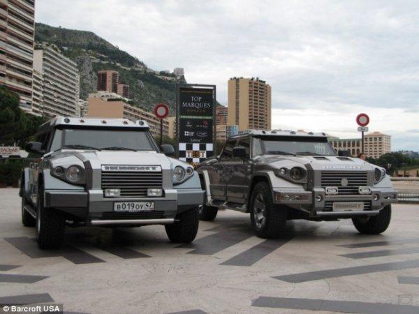 Самый дорогой бронемобиль - Dartz Prombron Monaco Red Diamond Edition