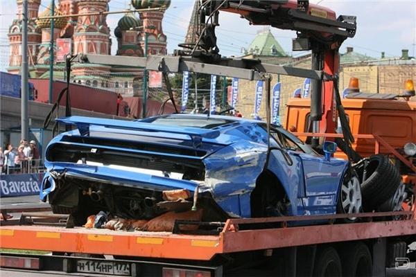Самые дорогие автомобильные аварии в мире