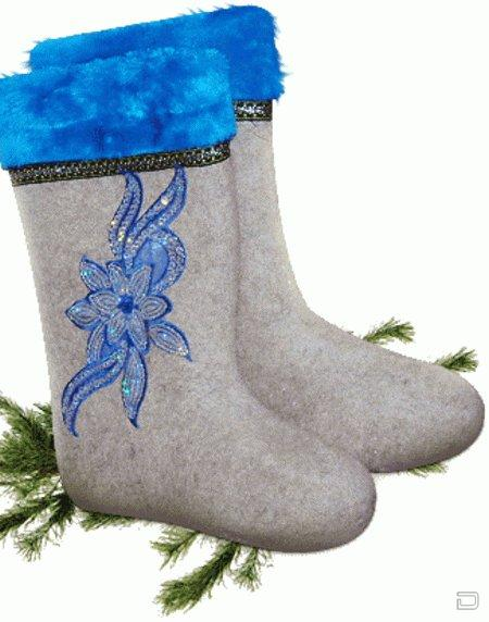 Мода на женскую обувь :) 1256811915_1256806268_valenki_20