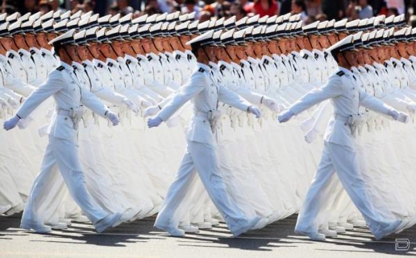Парад в честь 60-летия создания Китайской Народной Республики (50 фото)