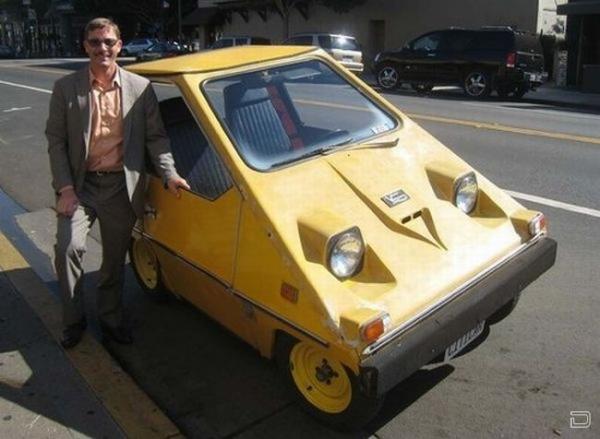 Citicar – смешной автомобиль 70-х годов прошлого века (20 фото)