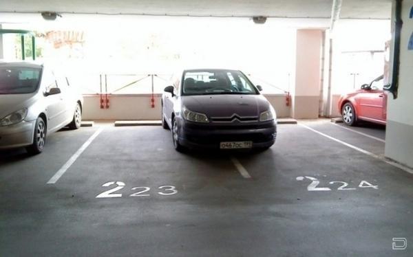 Так паркуется только му*ак!!! (12 фото)