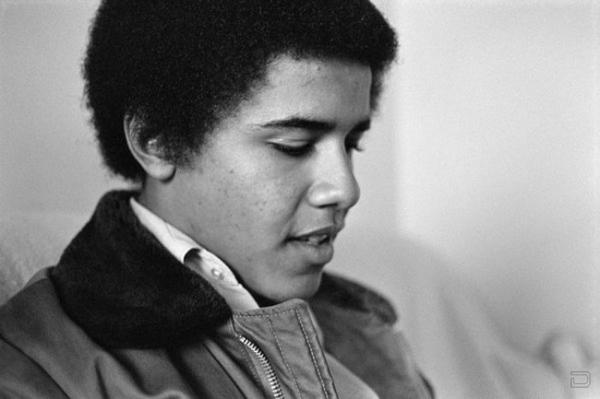 Барак Хусейн Обама в молодости (22 фото)