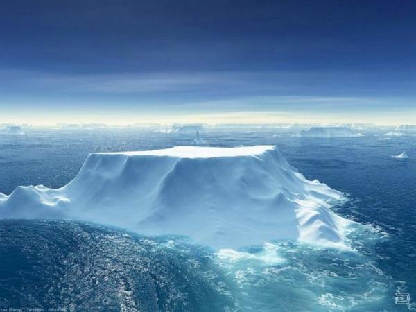 Коллекции потрясающих фотографий айсбергов (110 фото)