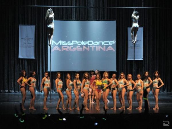 Конкурс танцовщиц на шесте  (12 фото)