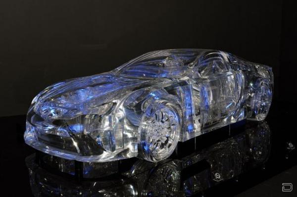 Лексус из льда (14 фото)