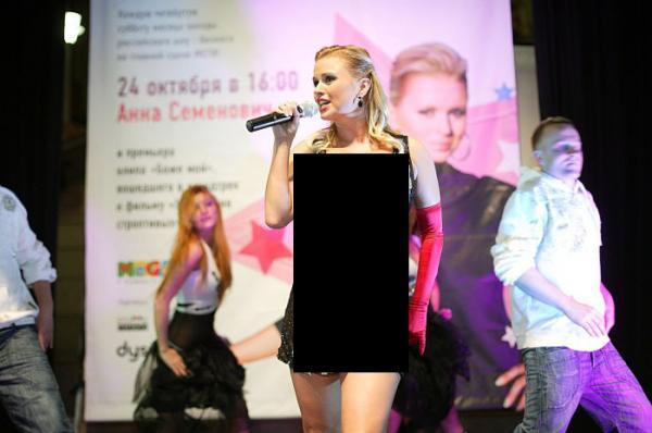 Платье Анны Семенович (5 фото)