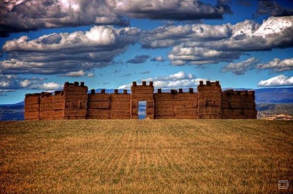 Сенокос - любимое время фермеров (27 фото)