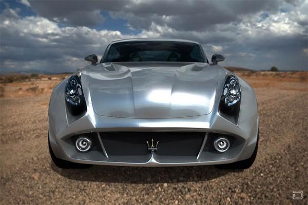 Концепт кроссовера Maserati Kuba (5 фото)