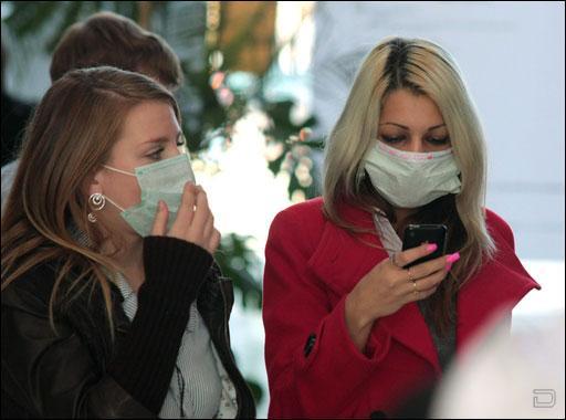 Борьба с гриппом масками