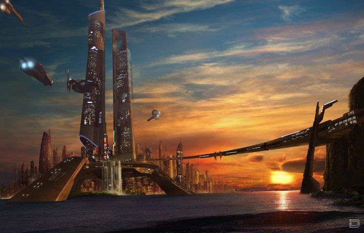 Города будущего (18 фото)