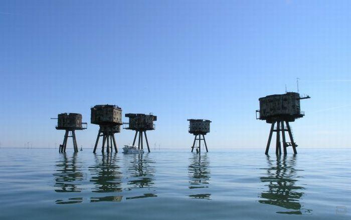 Морские крепости, построеные во времена Второй мировой войны (22 фото)