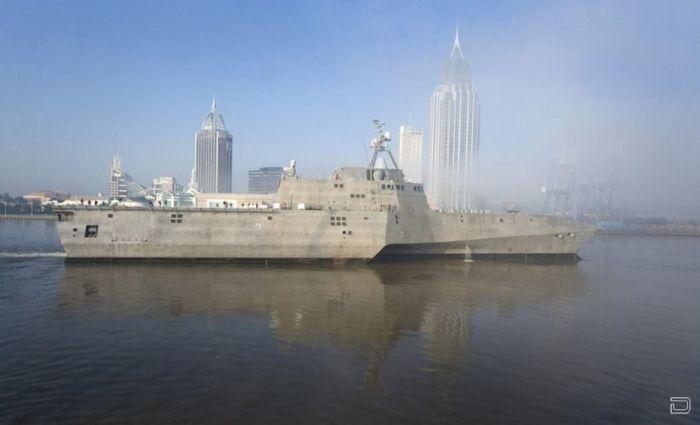 ����� ������ ������� ������������ ����� - USS Independence (LCS-2)