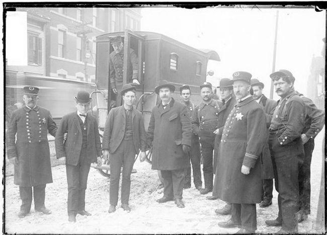 Криминал начала прошлого века в Чикаго (128 фото)