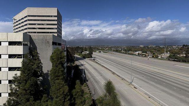Пустой Лос-Анджелес (25 фото)
