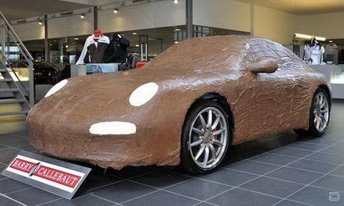 Новое украшение для Porshe 911 Carrera S (5 фото)