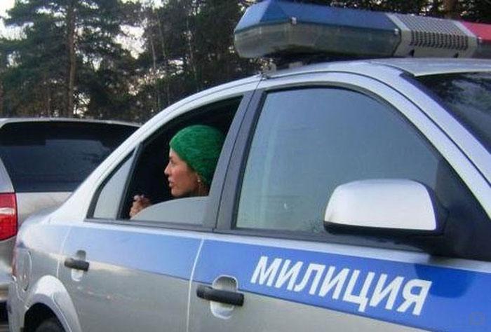 Бывшую участницу дома-2 задержала милиция (4 фото)