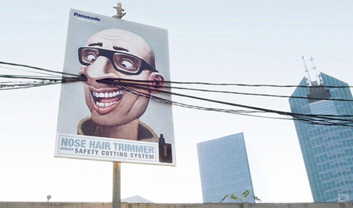Креативная реклама от Panasonic (4 фото)