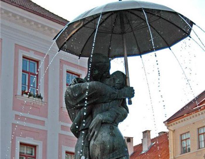 Тарту - город студентов (52 фото)