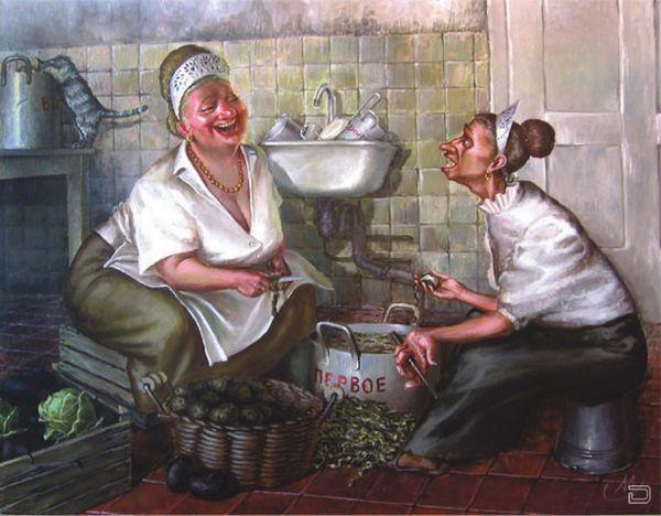 Веселые картинки от Иванова Александра о украинской жизни в селе (25 штук)