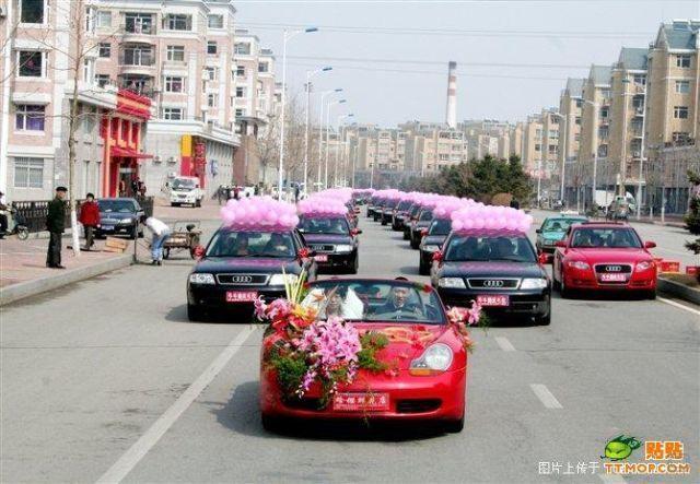 Свадьба представителей китайской мафии (11 фото)