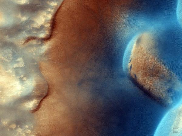 Фотографии поверхности Марса (10 фото)