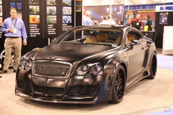 Bentley Continental Blackout (7 фото)