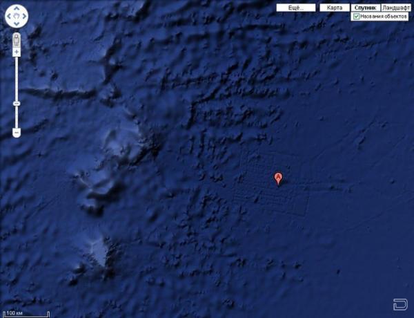 Атлантида найдена возле северо-восточного Африканского побережья