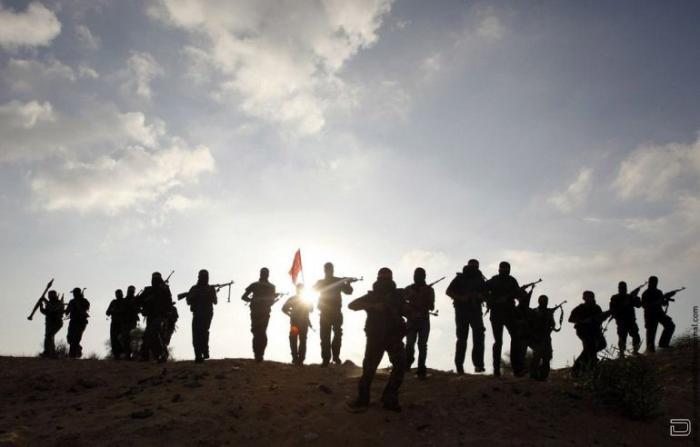Террористы из ДФОП