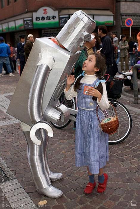 Робот из Японии (7 фото)