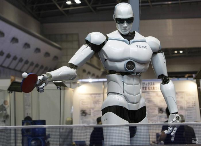 В Токио открылась международная выставка роботов (11 фото)