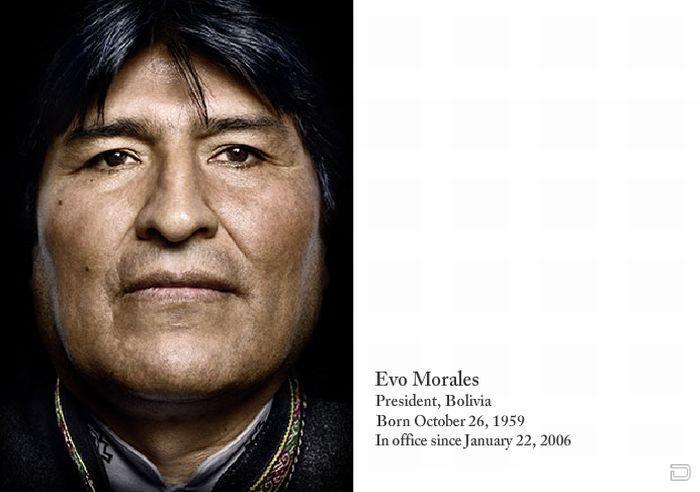Пртреты лидеров со всего мира (49 фото)