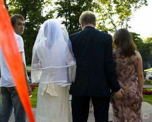 Очень прикольная свадьба